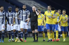 West Brom boost survival hopes after farcical scenes in win over Brighton