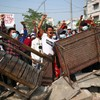 Police in Myanmar intensify use of force at anti-coup protests