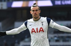 Bale at the double as Tottenham thrash Burnley