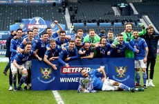 St Johnstone become first club outside Celtic to win major Scottish trophy since 2016