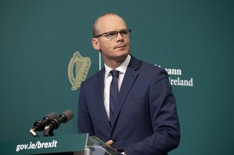 Minister Simon Coveney (file photo)