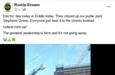 Facebook 'in touch with' gardaí after removing group behind anti-lockdown protest in Dublin