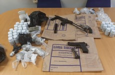 Three guns and €115,000 worth of drugs seized by Gardaí after search in Dublin