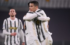 Ronaldo on target as Juve boost hopes of 10th straight title with win in Serie A