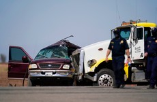 13 of 25 people crammed into SUV killed after vehicle collides with lorry in California