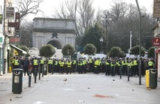 Man (30s) due in court over firework attack on gardaí at anti-lockdown protest