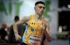 Irish runner McElhinney out of European Indoors following Covid positive