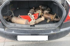 Two men charged after catalytic converters found in boot of car in Finglas