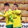 Norwich win top-of-table clash to close in on instant Premier League return