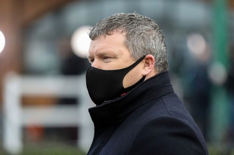 Trainer Gordon Elliott.