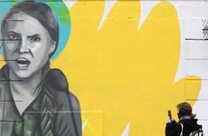 Dublin mural of Greta Thunberg repaired after being vandalised