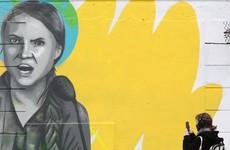 Dublin mural of Greta Thunberg repaired after being vandalised