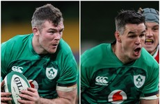 IRFU backing O'Mahony and Sexton to keep delivering at Test level