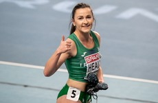 Phil Healy and Nadia Power make flying starts at European Indoor Championships