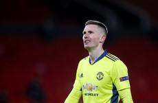 Dean Henderson takes Man United goalkeeping gloves as David De Gea granted time out