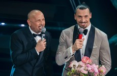 'I'm not afraid to take risks' - Ibrahimovic hitches motorbike ride to sing at Italian music festival