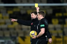 Gerrard accepts one-match ban as Morelos booking is rescinded