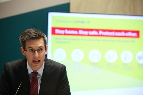 Deputy Chief Medical Officer Dr Ronan Glynn