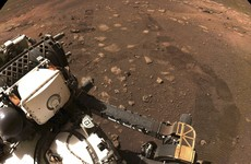 Nasa's new Mars rover hits the dusty red road in its first test drive