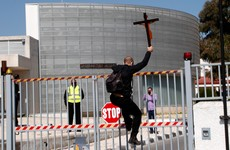 Christians in Cyprus protest against Eurovision entry they say promotes satanic worship