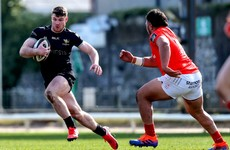 Late Jennings try sees Connacht Eagles fight back to draw with Munster 'A'