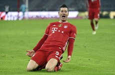 Lewandowski hits hat-trick as Bayern beat Dortmund in six-goal thriller