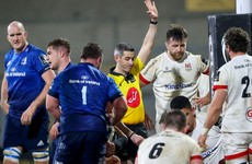 Ulster coach left bemused after red card ruins Pro14 dream