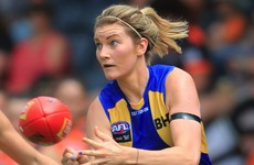 Grace Kelly scores West Coast Eagles' only goal in defeat to Fremantle