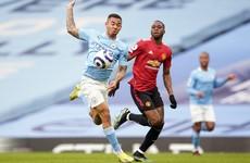 LIVE: Man City v Man United, Premier League
