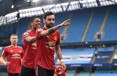 Man United stun City to end 21-game winning run