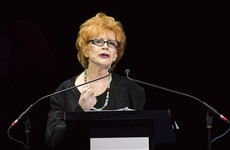 Irish author Edna O'Brien receives France's highest cultural award