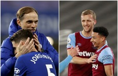 Chelsea cruise to victory and West Ham win as Premier League top four race hots up
