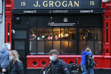 J Grogan pub in Dublin City Centre today has been closed for a year