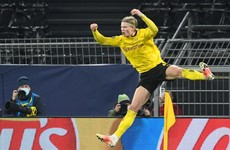 Haaland on the double as Dortmund seal 5-4 aggregate win to book quarter-final spot