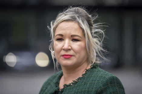 File image of Michelle O'Neill.
