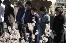 Japan falls silent to mark decade since tsunami disaster