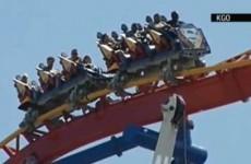 VIDEO: Superman roller coaster rescue at California park