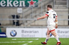 Ulster's Warwick receives 2-game ban after red card versus Leinster