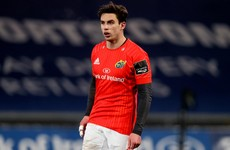 Joey Carbery to make first Munster start since injury against Scarlets