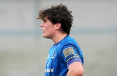 Soroka makes full debut as Leinster name side to face Zebre