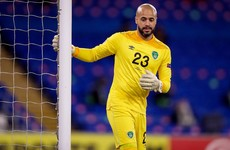 More problems for Stephen Kenny as Darren Randolph ruled out of World Cup qualifiers