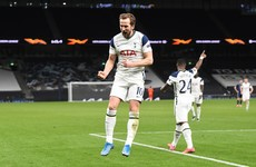 Kane brace puts Spurs in driving seat against Dinamo Zagreb