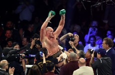 Tyson Fury says Anthony Joshua fight is 'nowhere near' being finalised