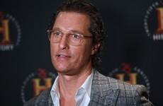 Matthew McConaughey says he's seriously considering Texas governor run