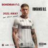 Bohemians team up with Fontaines DC to tackle homelessness with new away shirt