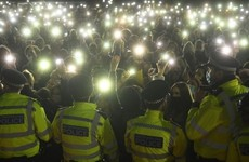 'Unspeakable scenes': Police criticised for tactics at London vigil for Sarah Everard