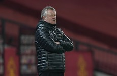 Sheffield United confirm the departure of manager Chris Wilder