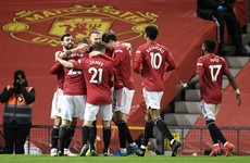 Dawson own goal the difference as Man United move back into second