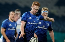 Playmaking 12 Frawley 'developing nicely' as he gets set for Leinster return