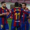 Spectacular double from Messi on night he equals Barcelona appearance record